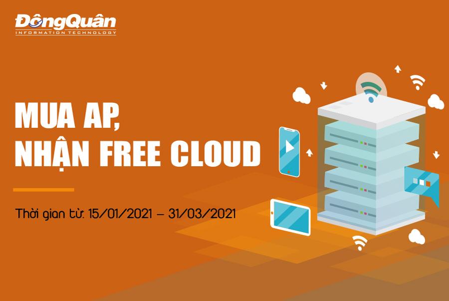 Chương trình khuyến mãi – Mua AP, nhận Free Cloud